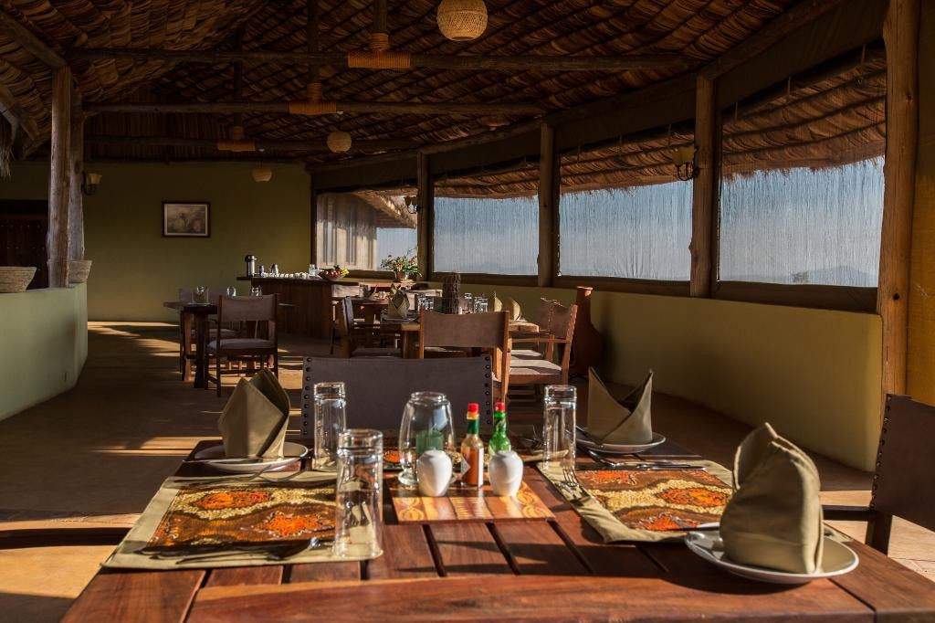 Karatu Simba Lodge Dining Area