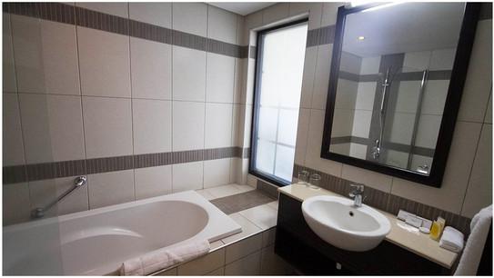 Mount Meru Hotel Bathroom