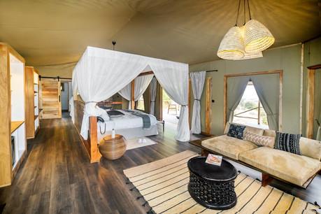 Lemala Mpingo Ridge Tent Inside