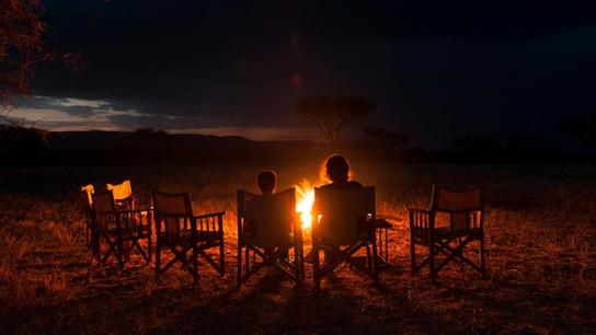 Mara Kati Kati Tented Camp Fireplace