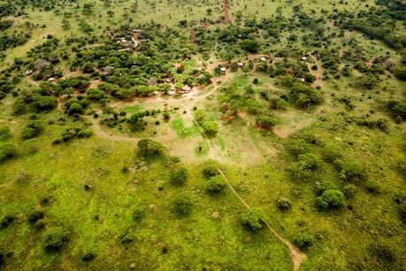 Sanctuary Swala Tarangire Camp - Aerial View