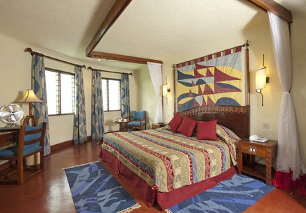 Lake Manyara Serena Safari Lodge Bedroom