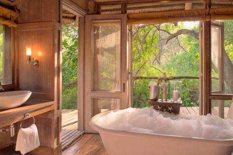 Lake Manyara Tree Lodge Bathtub