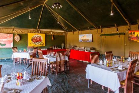 Heritage Mara Camp Dining
