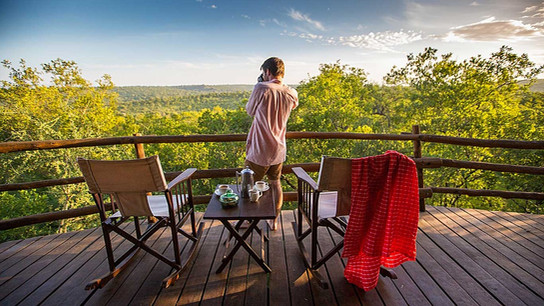 Elewana Treetrops Tarangire Balcony