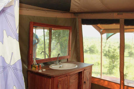 Kilima Valley Camp Bathroom