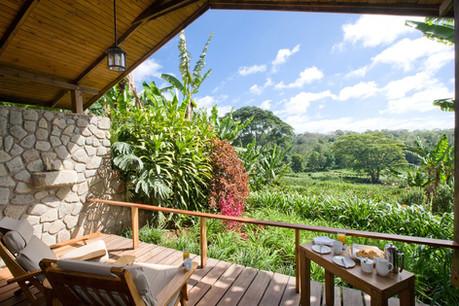 Gibb's Farm Balcony