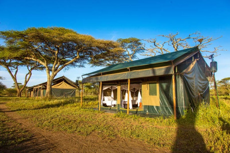 Heritage Mara Camp Tent Outside