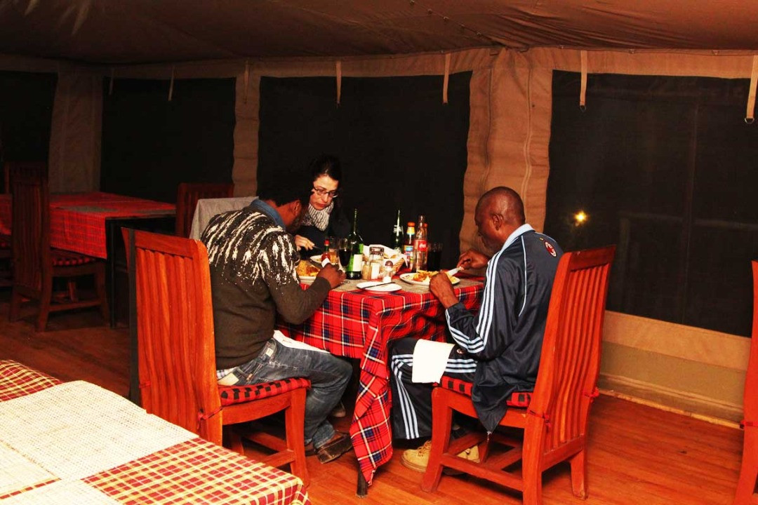 Kilima Valley Camp Resturant