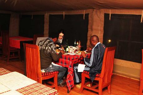 Kilima Valley Camp Resturant