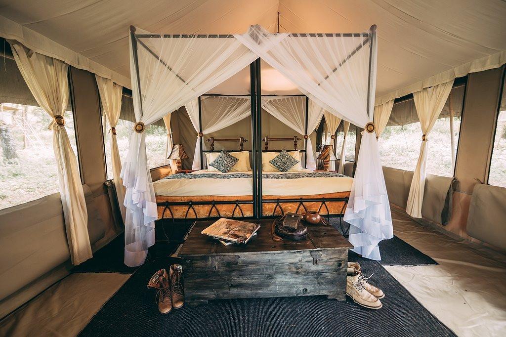Ngorongoro Tortilis Camp Inside Tent