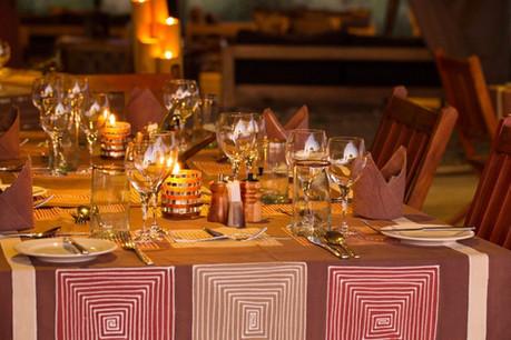 Kiota Camp Dining