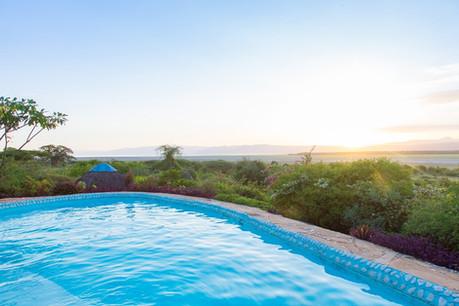 Manyara Wildlife Safari Camp Infinity Pool