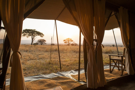 Mara Under Canvas Tented Camp Inside Tent
