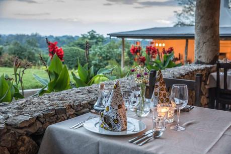 Arusha Villa Dining