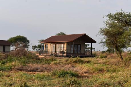 Serengeti Sametu Camp Outisde Tent