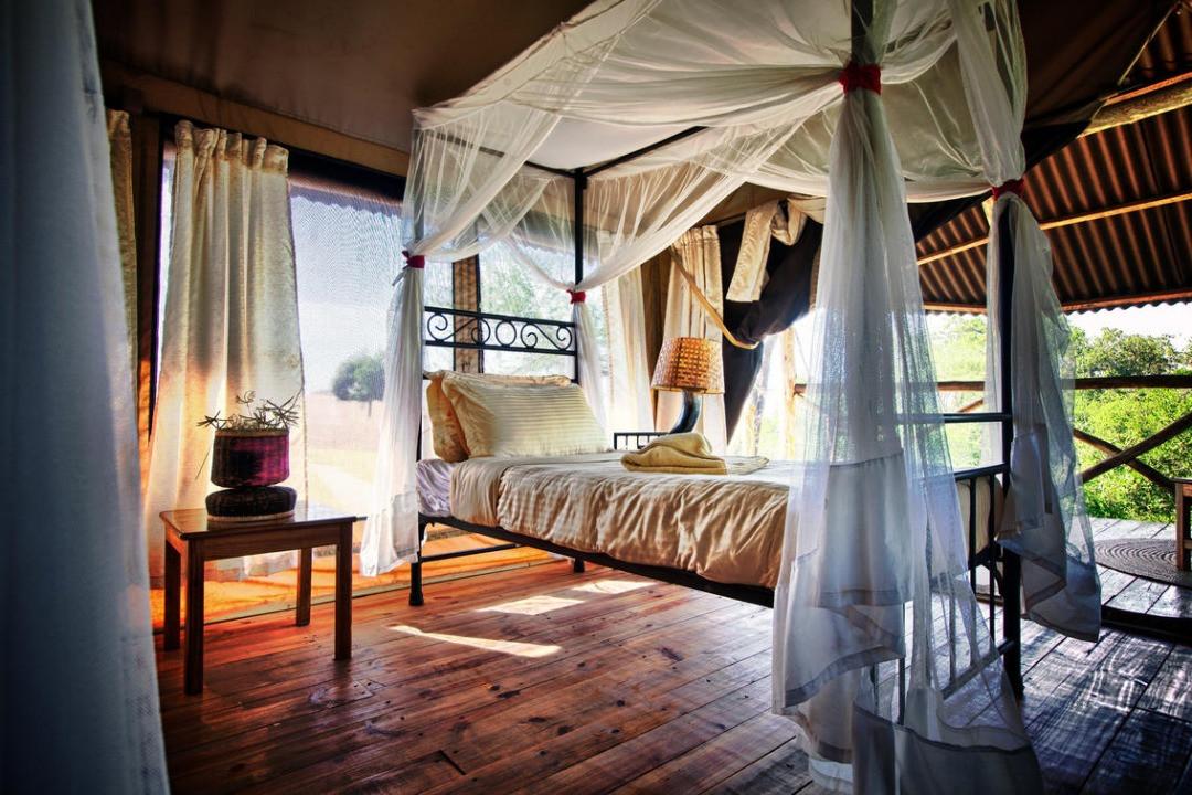 Mbali Mbali Tarangire River Camp Tent Inside