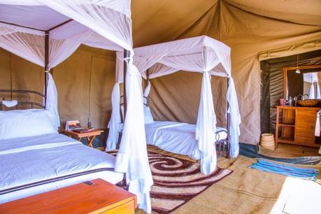 Heritage Mara Camp Tent Inside