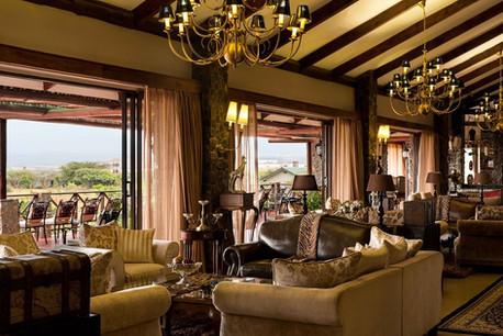 Ngorongoro Oldeani Mountain Lodge Lounge