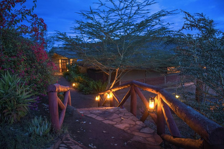 Karatu Simba Lodge Night View