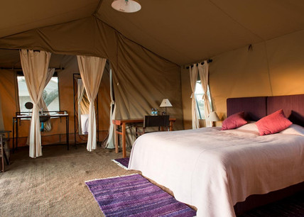 Mara Under Canvas Tented Camp Double Bed
