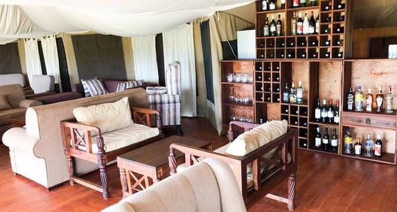 Acacia Tarangire Luxury Camp - Bar and Lounge