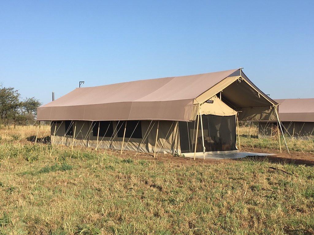 Serengeti Tortilis Camp Outside Tent