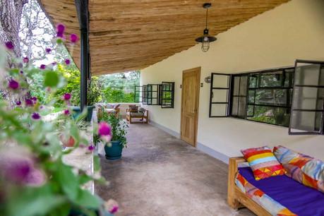 Arusha Villa Veranda