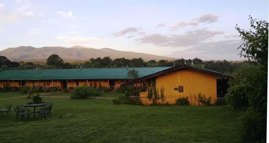Rhino Lodge Facade
