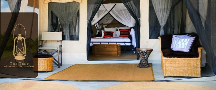 Serengeti Tortilis Camp Inside Tent