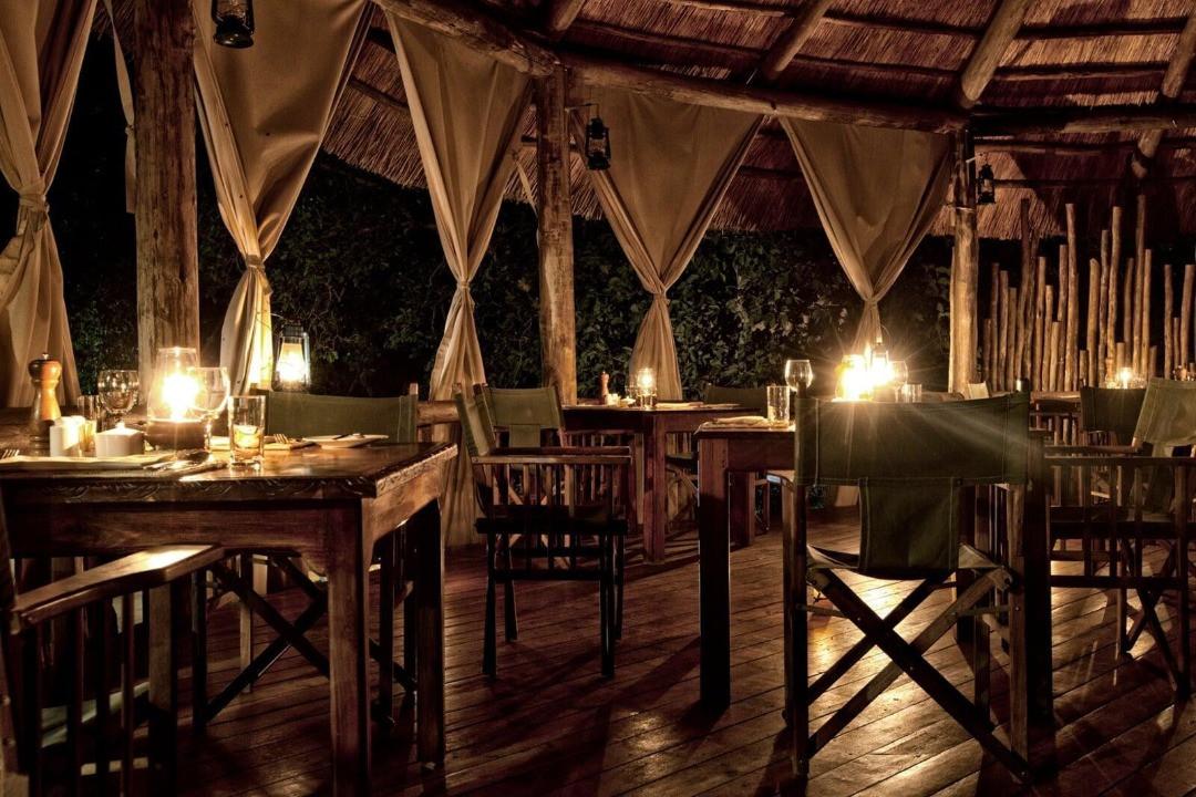 Mbali Mbali Tarangire River Camp Dining