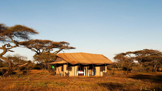 Mara Under Canvas Tented Camp Outside Tent