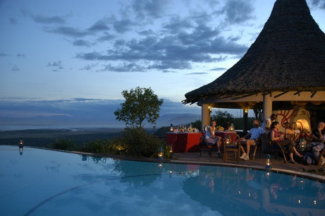 Lake Manyara Serena Safari Lodge Swimming Pool