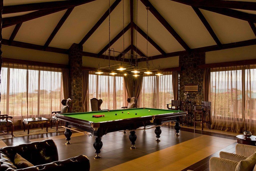 Ngorongoro Oldeani Mountain Lodge Snooker Table
