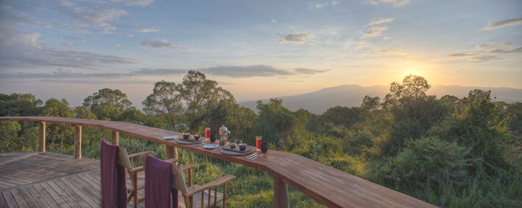 The Highlands, Ngorongoro View from Balcony