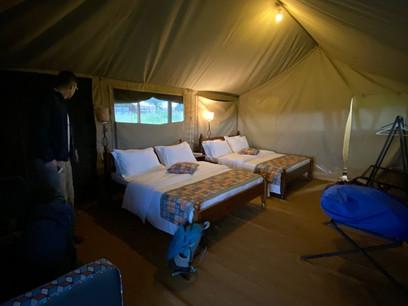 Mbugani Migration Camp Tent Inside