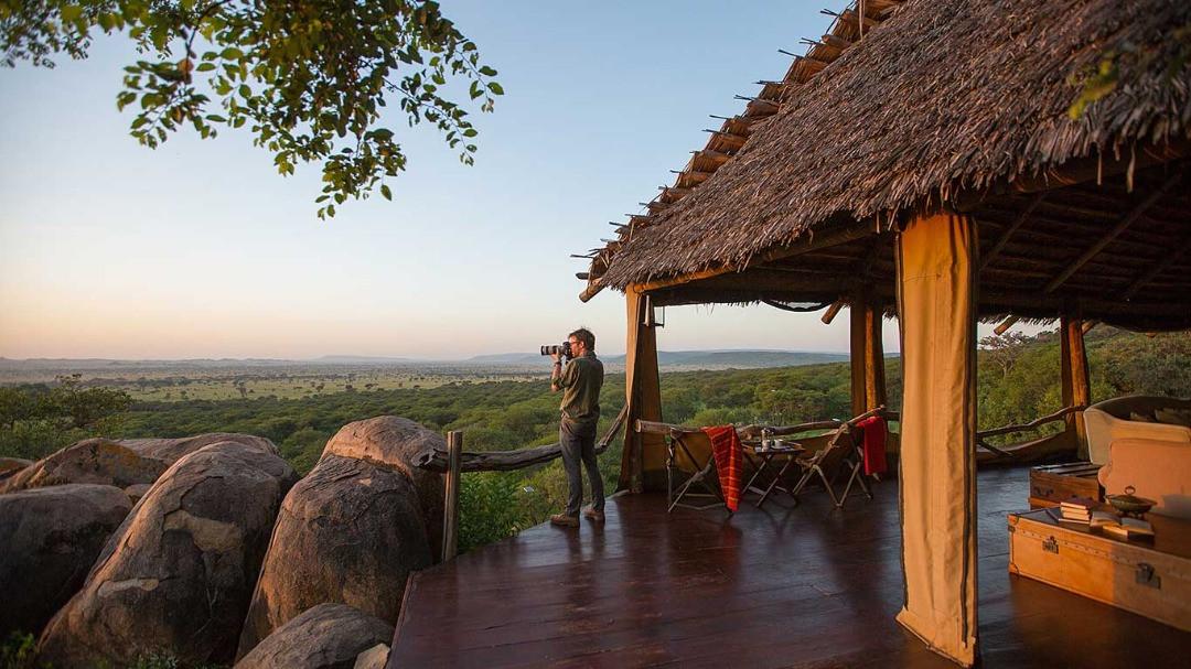 Serengeti Pioneer Camp View from Lodge
