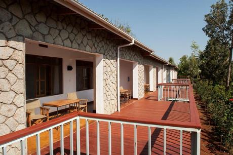 Tloma Mountain Lodge Room Balcony