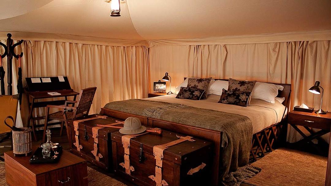 Serengeti Pioneer Camp Interior