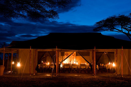 Mara Under Canvas Tented Camp Main Tent