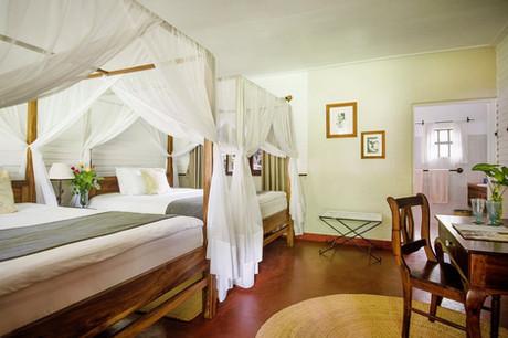 Mount Meru Game Lodge Twin Room