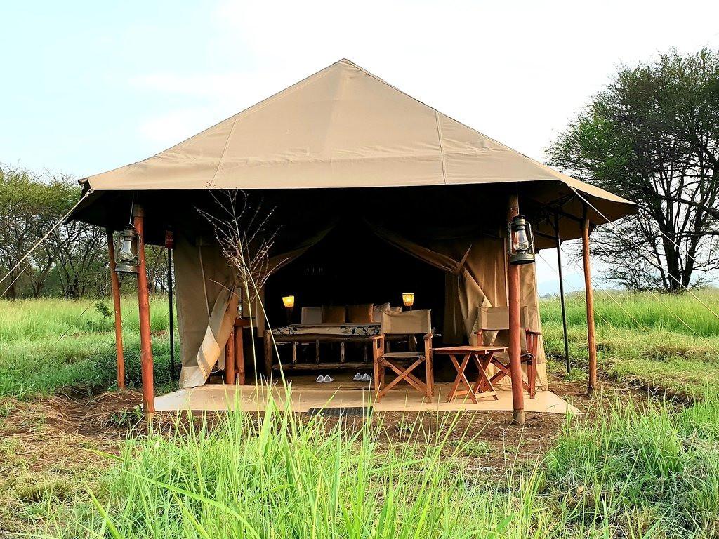 Zawadi Camp Tent Outside