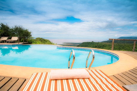 Escarpment Luxury Lodge Swimming Pool