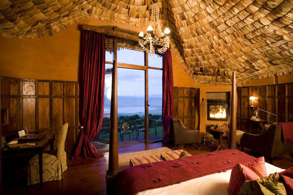 andBeyond Ngorongoro Crater Lodge Inside Room