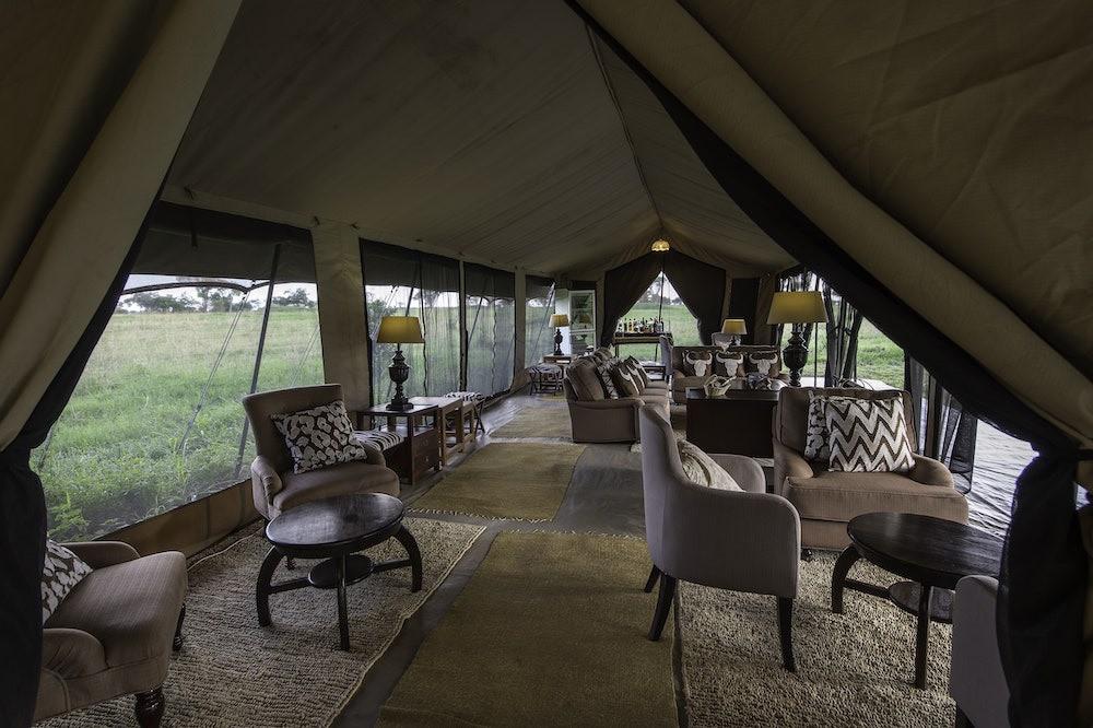 Serengeti River Camp Lounge