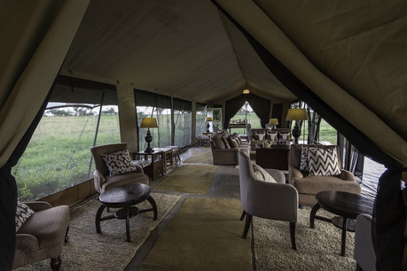 Serengeti River Camp Lounge