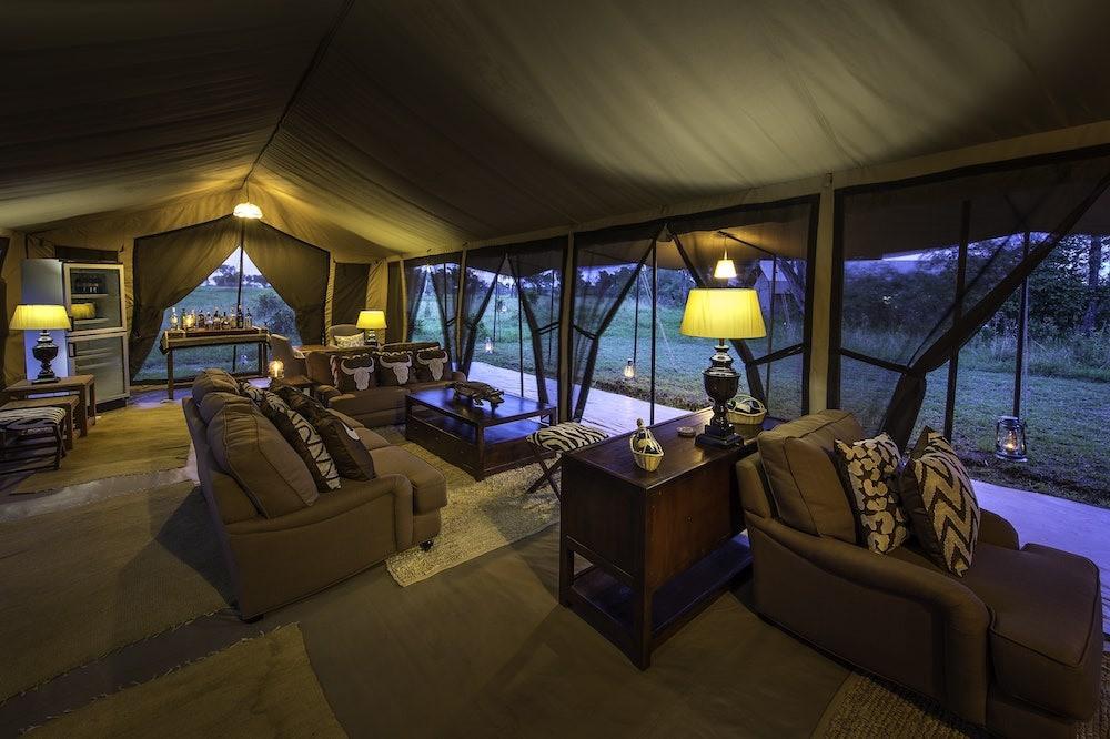 Serengeti River Camp Reception
