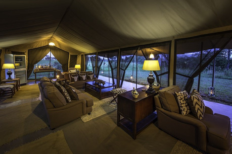 Serengeti River Camp Reception