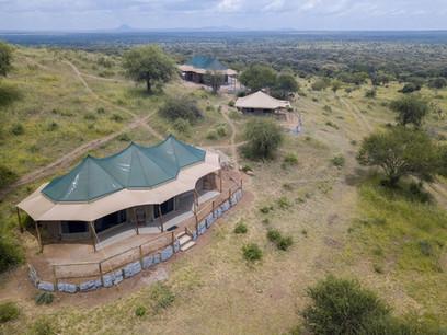 Acacia Tarangire Luxury Camp - Aerial View
