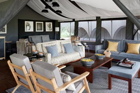 Sanctuary Ngorongoro Crater Camp - Lounge